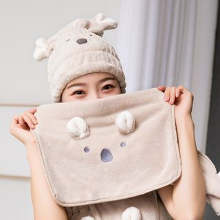 Home Simply - Animal Ear Quick Dry Hair Towel