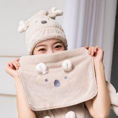 Home Simply - Animal Ear Quick Dry Hair Towel