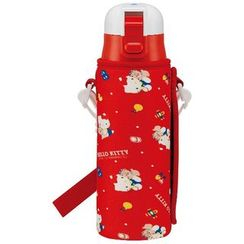 Skater - Hello Kitty Stainless Bottle 470ml with Cover
