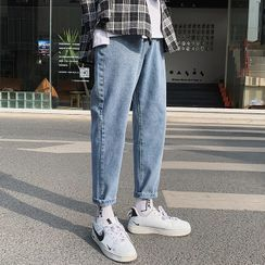 YERGO - 直筒牛仔裤