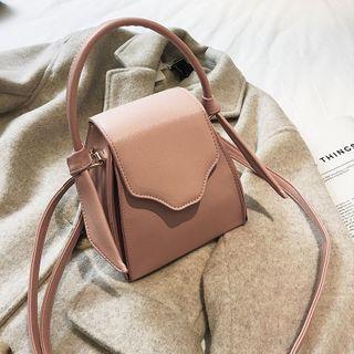 Yellowtail(イエローテール) - Faux Leather Crossbody Bag