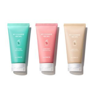 The Saem - My Cleanse Recipe Cleansing Foam - 3 Types