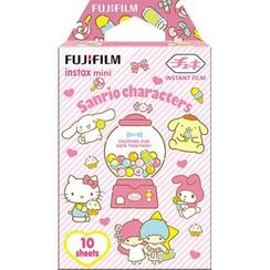 Fujifilm - Fujifilm Instax Mini Film (Sanrio Characters) (10 Sheets per Pack)