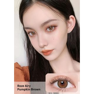 i - DOL - Roze Airy Monthly Color Lens #Pumpkin Brown