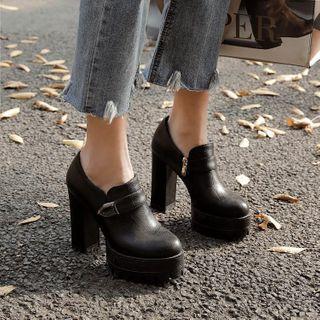 锦洋鞋业 - 厚底粗跟鞋