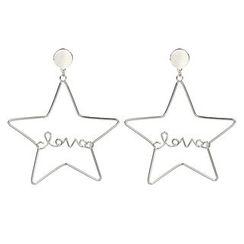 Vonluxe - Star Drop Earring
