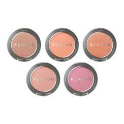 KLAVUU - Urban Pearlsation Natural Powder Blusher - 5 Colors
