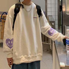 Meirin - Print Sweatshirt