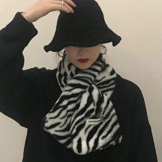 Ashlee - 斑馬紋圍巾