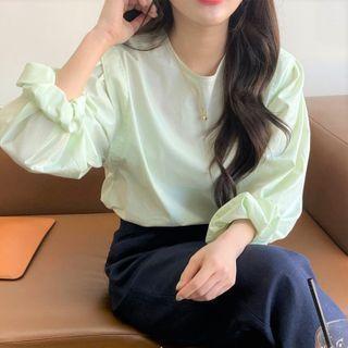 Pomona - 氣球袖襯衫