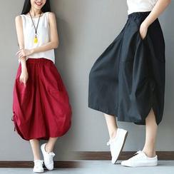 Ebbie - Wide Leg Harem Pants