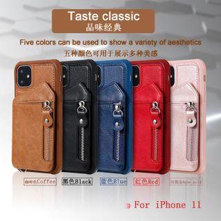 Quivier - Folio Card Holder Phone Case - iPhone 12 Pro Max / 12 Pro / 12 / 12 mini / 11 Pro Max / 11 Pro / 11 / SE / XS Max / XS / XR / X / SE 2 / 8 / 8 Plus / 7 / 7 Plus