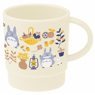 Skater - My Neighbor Totoro Stacking Plastic Cup 340ml