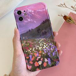 Sugar&Spice - Scenery Print Phone Case - iPhone 11 Pro Max / 11 Pro / 11 / SE / XS Max / XS / XR / X / 8 / 8 Plus / 7 / 7 Plus / 6s / 6s Plus
