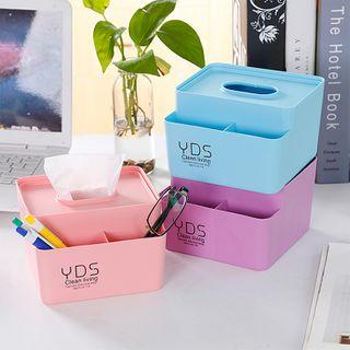 四季美 - 塑胶纸巾盒