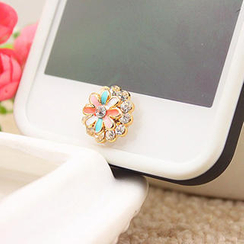 Fit-to-Kill - Colorful Diamond Iphone Button Sticker