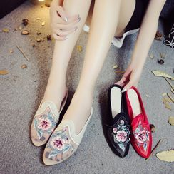 Kyotopia - Chinese Traditional Embroidered Mules