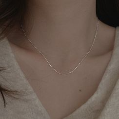 Metallique - Sterling Silver Necklace