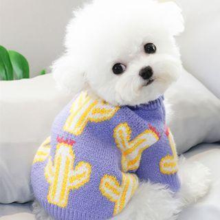 Bixin - 仙人掌针织宠物上衣