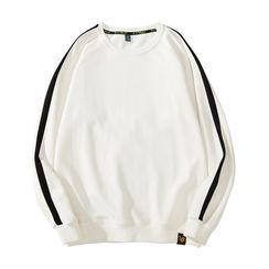 NUIS - Contrast Stripe Sweatshirt