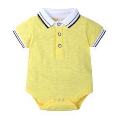 Kissy Kiddos - Kids Short-Sleeve Polo Playsuit