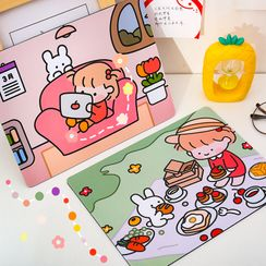 Eranso - Cartoon Print Mouse Pad