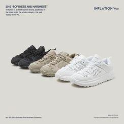 Newin - 網面透氣舒適厚底運動鞋