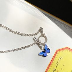 PPGIRL - Butterfly Pendant Necklace