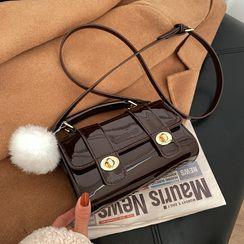 KOCORE - Patent Satchel Bag