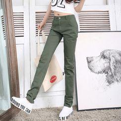 COOLIN - 高腰直身褲