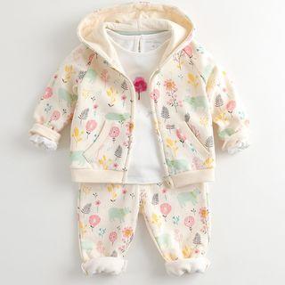 Marc&Janie - 婴儿套装: 风帽夹克 + 裤