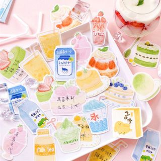 Thana(ターニャ) - Food Print Memo Pad (various designs)