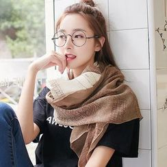 UACY - Gradient Patterned Cotton Scarf