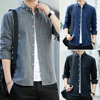 Aozora - Striped Shirt