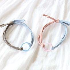 SUGAR STUDIO  - Hoop Two-tone Hair Tie