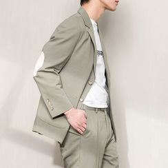 Orizzon - Set: Single Breasted Blazer + Dress Pants