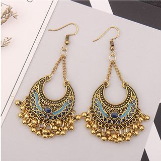 Bling Thing - Crescent Chandelier Earring