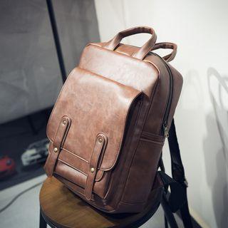 SUNMAN - 仿皮手提电脑背包