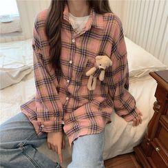 Jolly Club(ジョリー クラブ) - Plush Toy Plaid Shirt