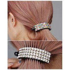 Miss21 Korea - Rhinestone-Detail Hair Clamp