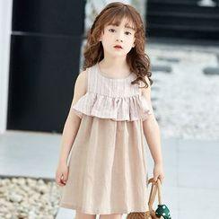 Cuckoo - Kids Sleeveless A-line Dress