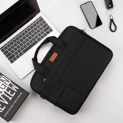 BAGGEST - 純色手提電腦公事包