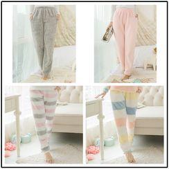 PinkPond - 毛毛睡褲 (多款設計)