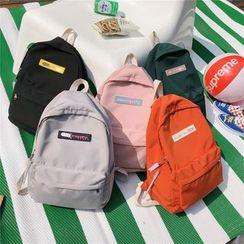 Mulgam - Set: Applique Nylon Backpack + Pouch