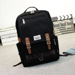Bag Hub - Buckled Lightweight Backpack