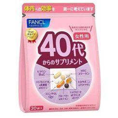Fancl Health & Supplement - 女士40+综合营养(片剂及胶囊)