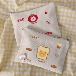 TangTangBags - Cartoon Embroidered Pouch
