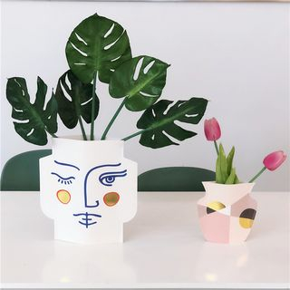 Oknana Home - Printed Vase (various designs)