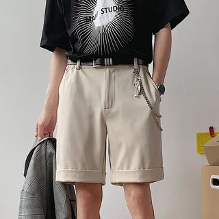 EOW - Straight-Fit Dress Shorts