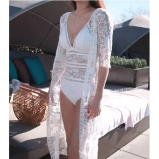 Jumei - Lace Beach Cover-Up